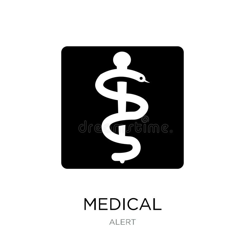 Medical icon in trendy design style. medical icon isolated on white background. medical vector icon simple and modern flat symbol. For web site, mobile, logo vector illustration