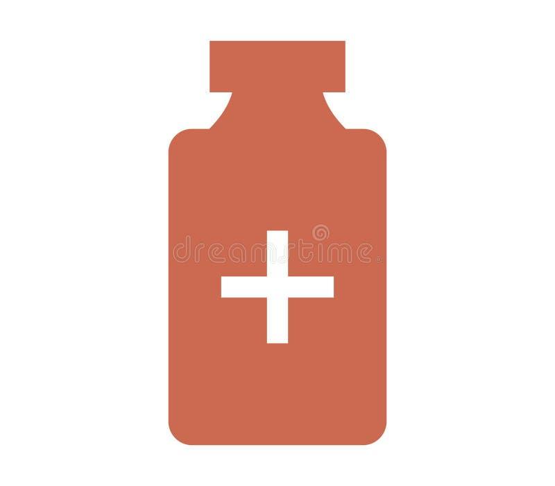 Medical icon. On white background stock illustration