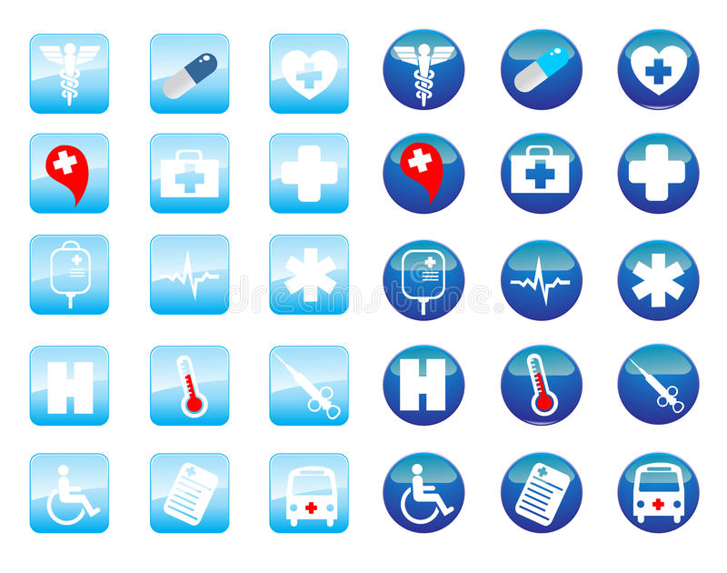 Download Medical icons stock vector. Image of acid, cross, poison - 11147974
