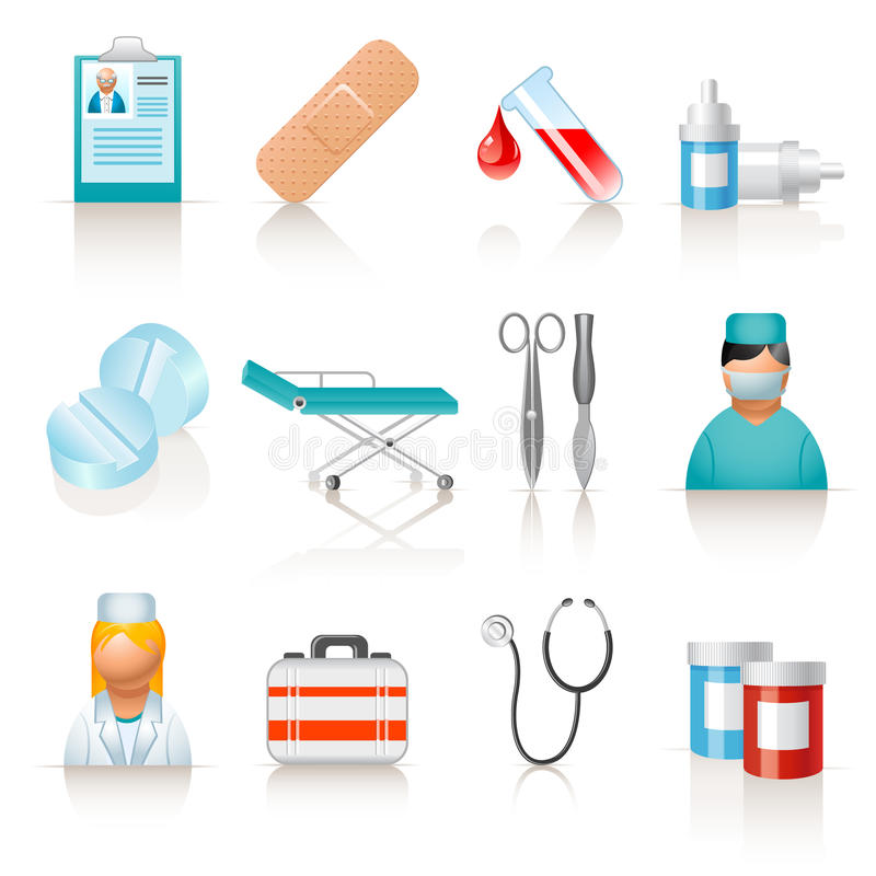 Download Medical Icons Stock Photography - Image: 14123892