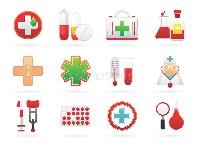 Download Medical Icons Royalty Free Stock Photography - Image: 17117797