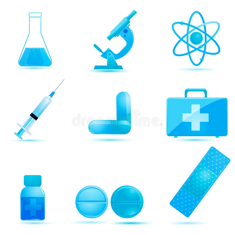 Download Medical Icons Stock Image - Image: 17549121