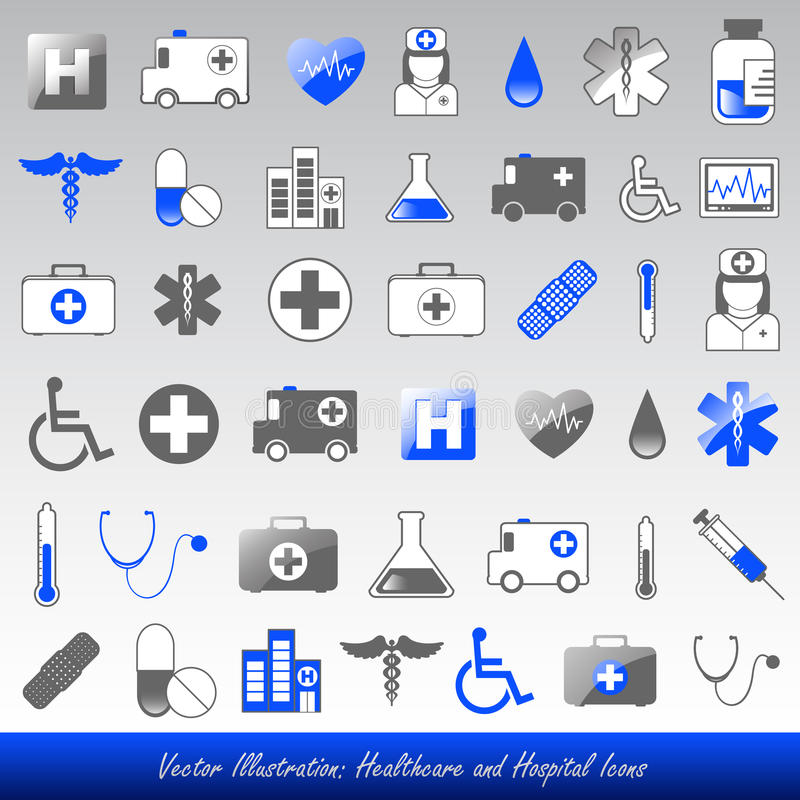 Download Medical icons stock vector. Image of colour, icon, heart - 19913836