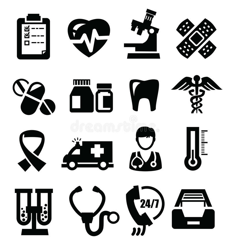 science icons stock vector  illustration of computer