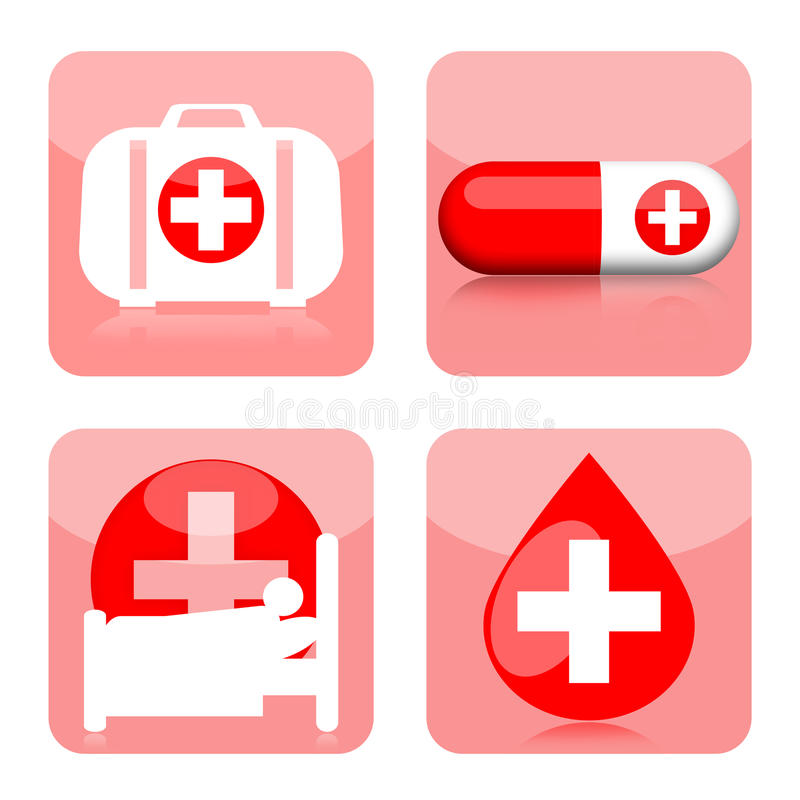 Download Medical Icons Royalty Free Stock Images - Image: 28870189