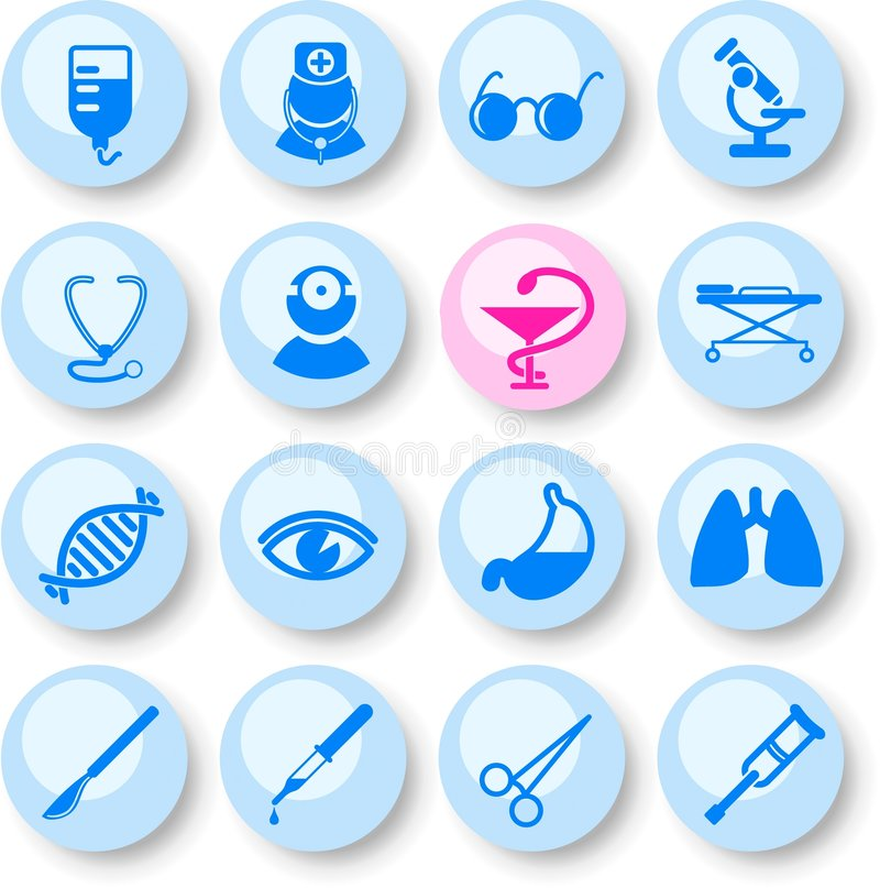 Download Medical Icons Royalty Free Stock Photography - Image: 8826397