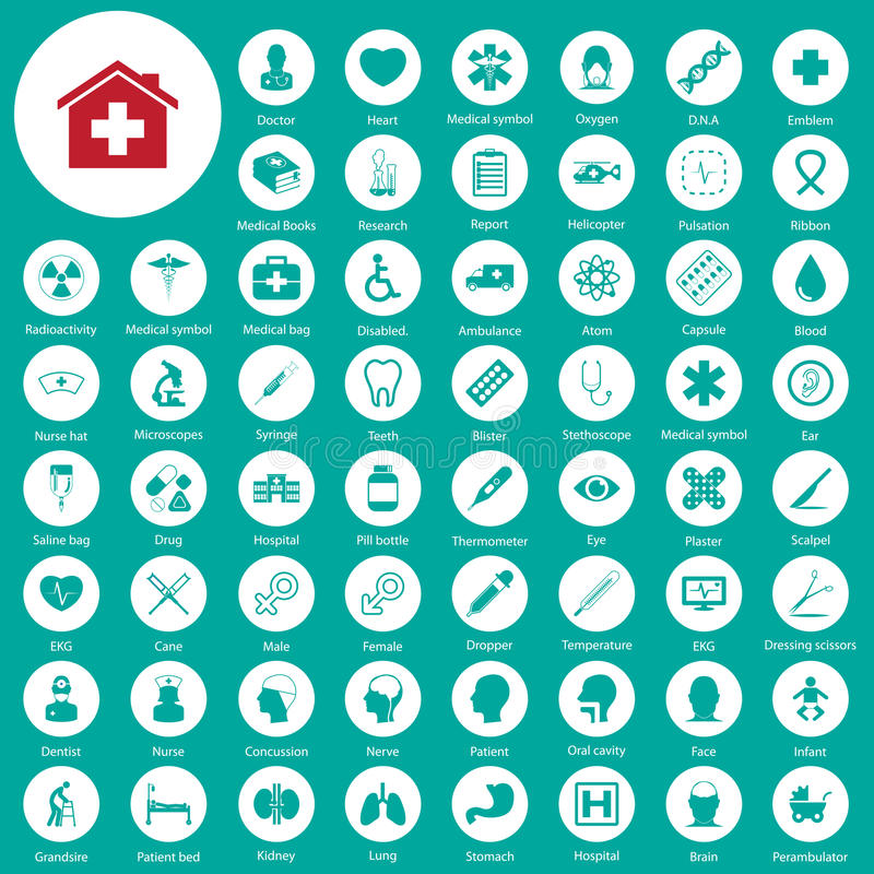 Medical icons set. Medical ,icons ,vector,set, EPS10