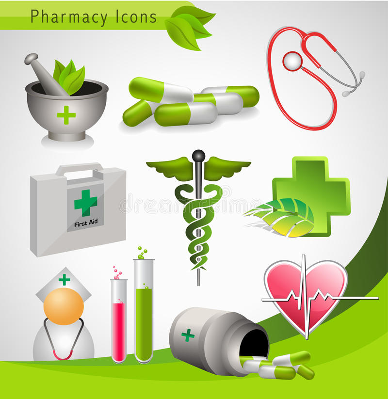 Medical icons - vector vector illustration