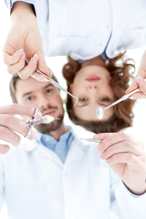Medical instruments royalty free stock image