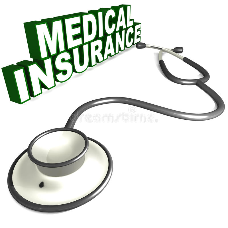 Medical insurance royalty free illustration