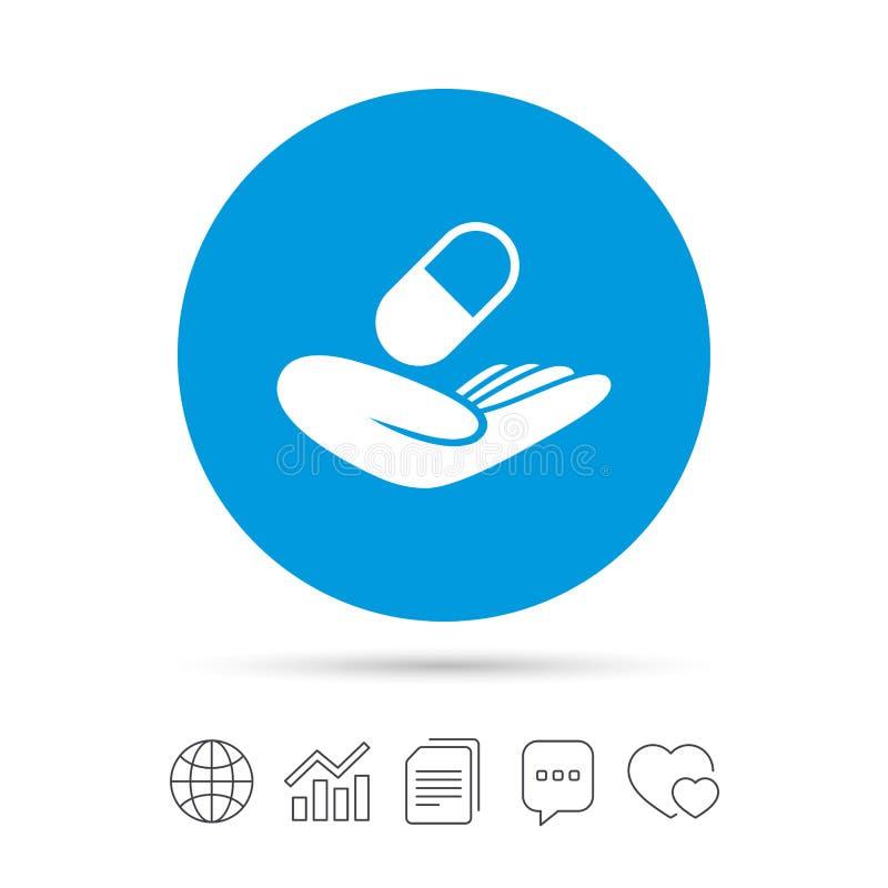 Medical Insurance Sign Health Insurance Stock Vector
