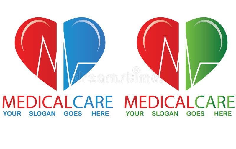 Medical logo vector illustration