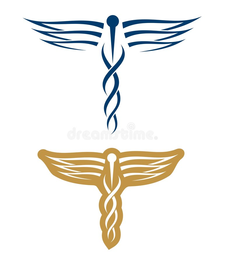 Medical Logos Stock Photo
