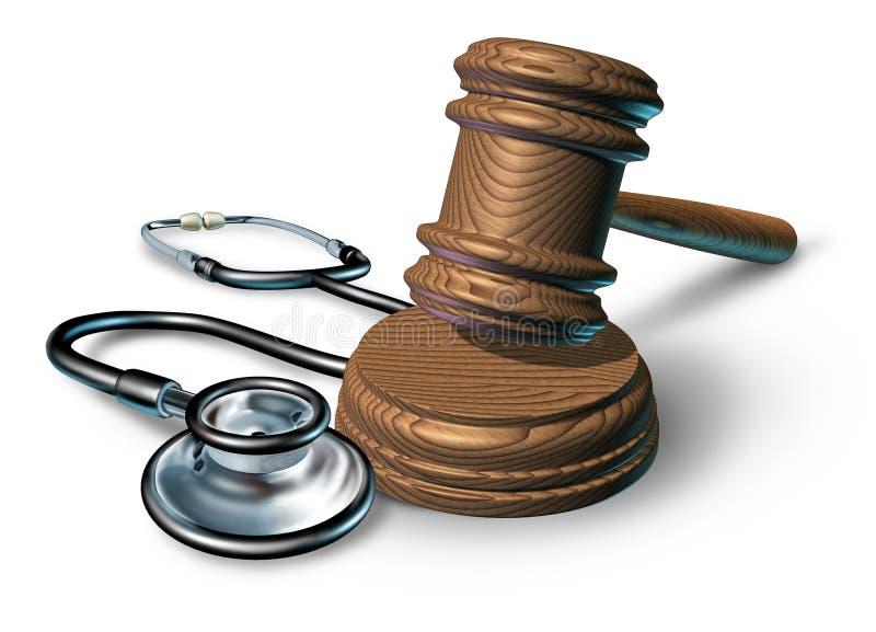 Medical malpractice royalty free illustration