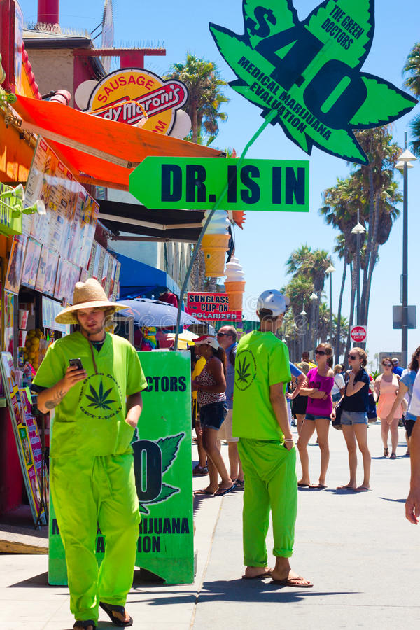 Download Medical Marijuana Venice Beach CA Editorial Photography - Image: 26392527