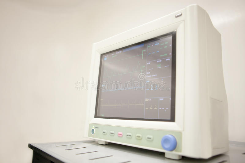 Download Medical monitor stock image. Image of control, equipment - 22269833