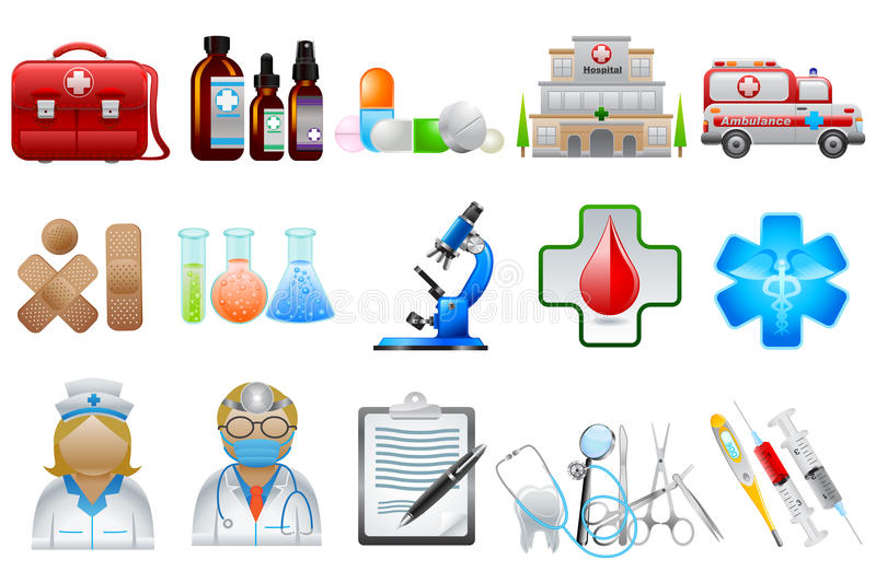Download Medical Object stock vector. Illustration of clipboard - 29518668