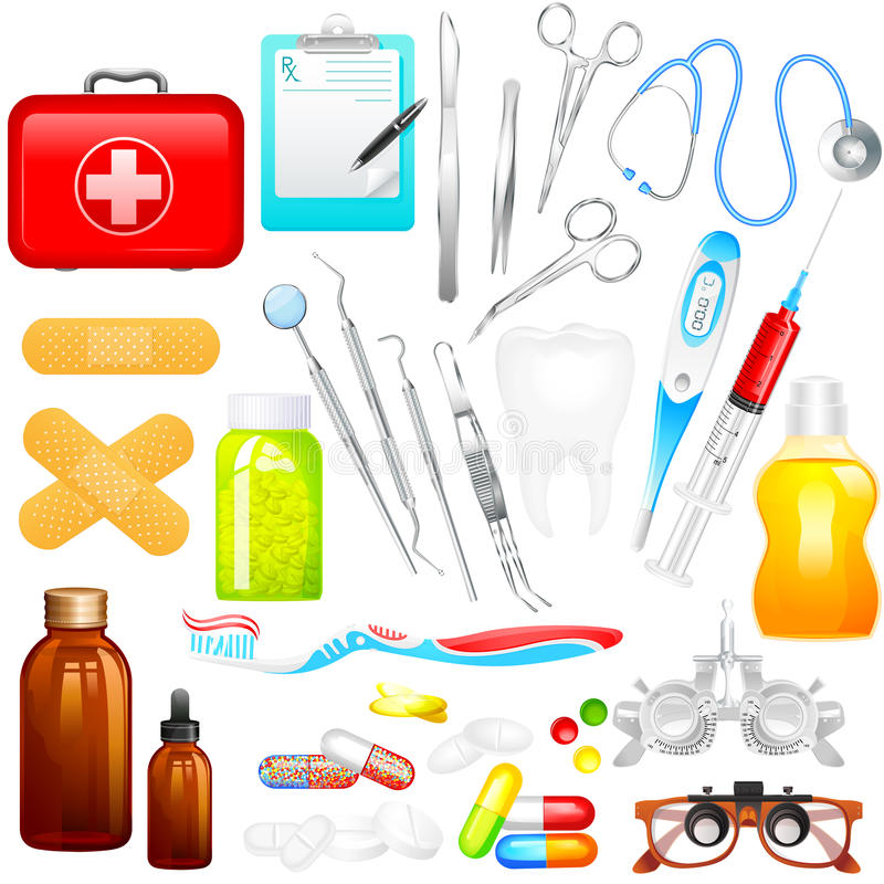Download Medical Object stock vector. Image of emergency, graphic - 38595815