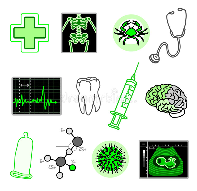 Download Medical objects stock vector. Illustration of research - 8960802