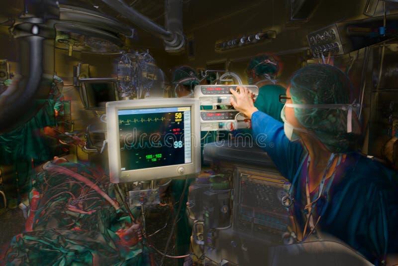 Medical operation stock illustration