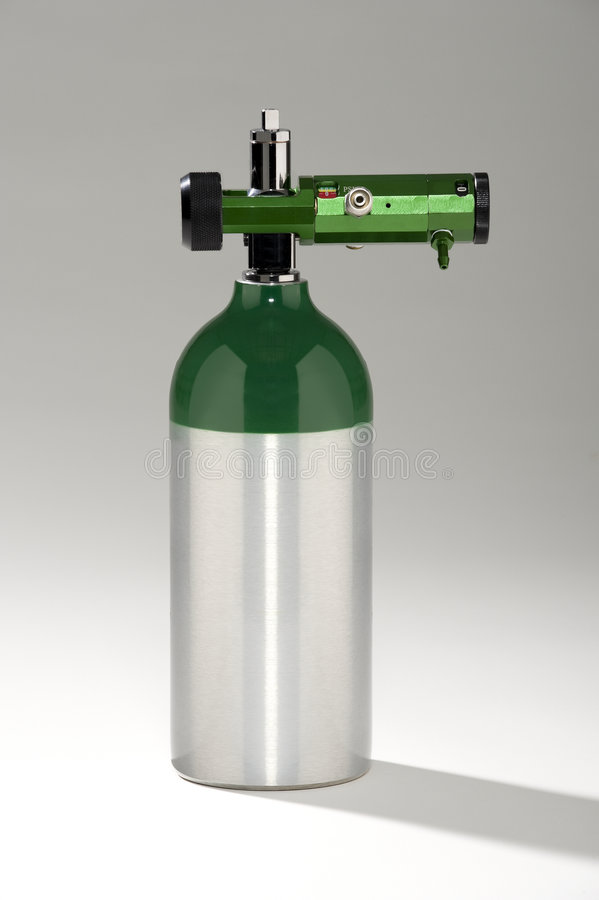 Download Medical Oxygen Tank stock photo. Image of cylinder, aluminum - 5250918