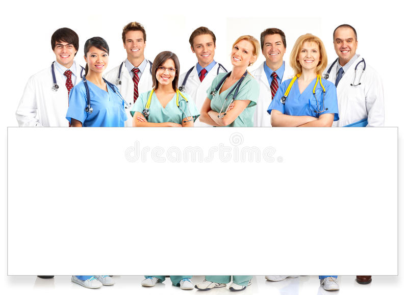 Medical people royalty free stock images