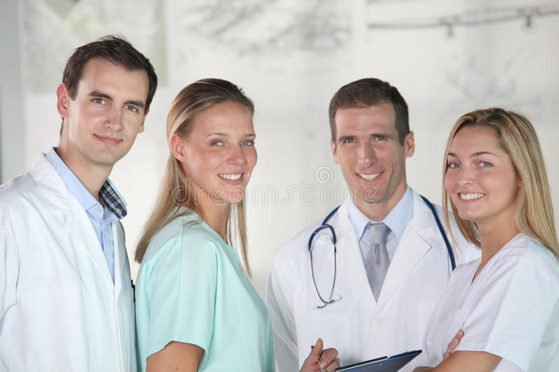 Medical people royalty free stock photography