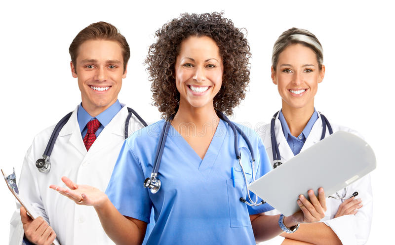 Medical people stock image