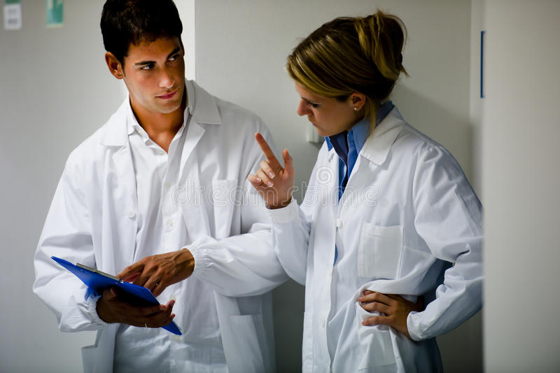 Medical Personnel Consulting stock photos