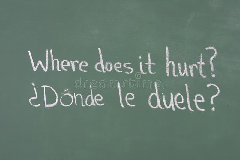 Download Medical Phrase On Chalkboard Stock Image - Image: 25509225