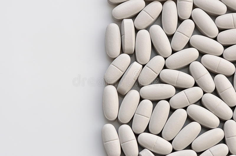 Medical pill royalty free stock images