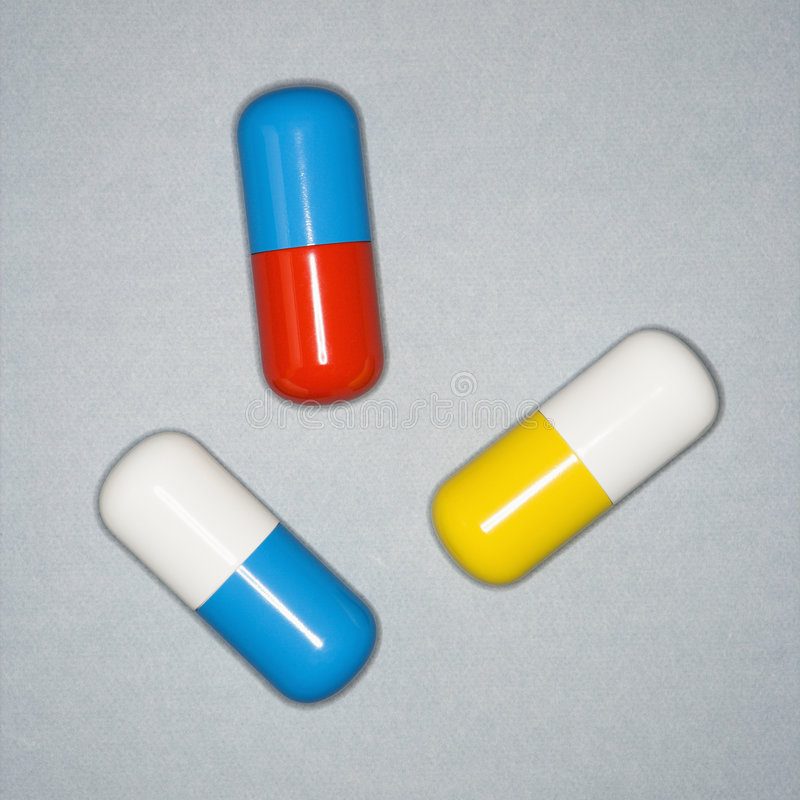 Medical pills. stock photo