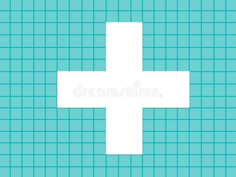 Medical plus vector illustration
