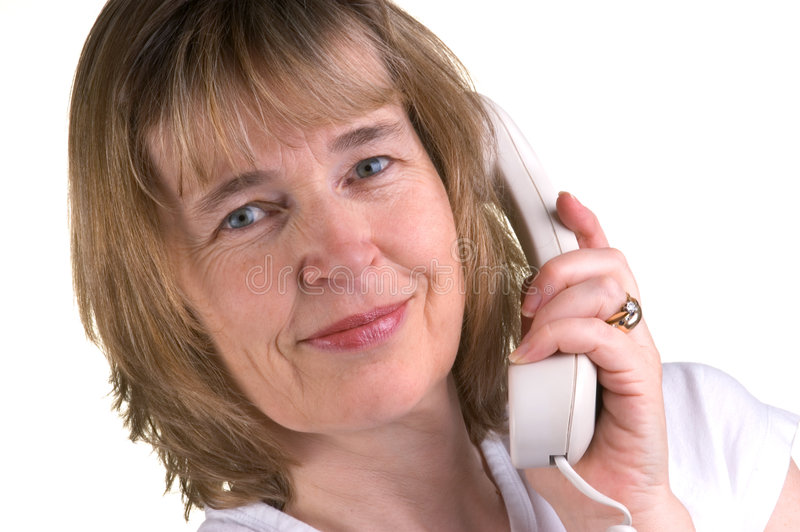 Medical Receptionist. Attractive Mature Female Medical Receptionist stock photography