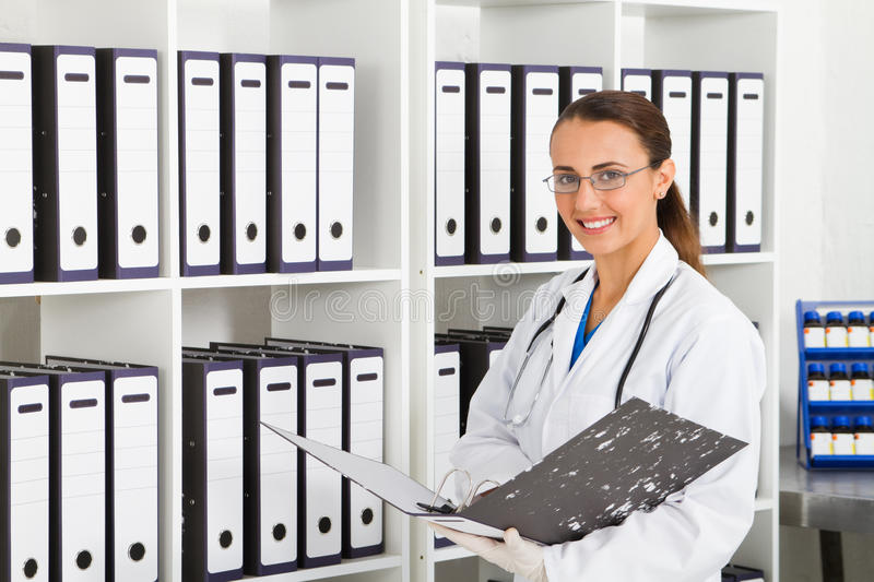 Medical records royalty free stock photos
