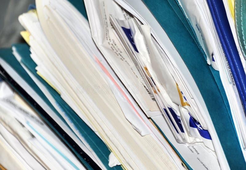 Medical Records royalty free stock photos