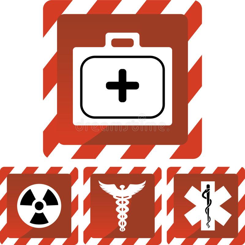Download Medical Red Alert Icons Stock Photography - Image: 9275052