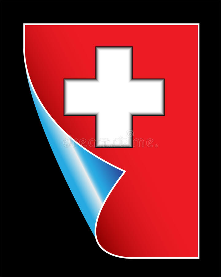 Medical Red Sign With Cross Royalty Free Stock Image