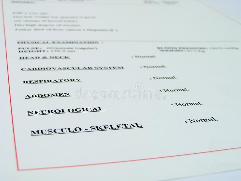 Download Medical Report Stock Image - Image: 179321