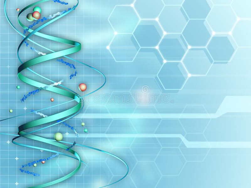 Medical Research background stock illustration