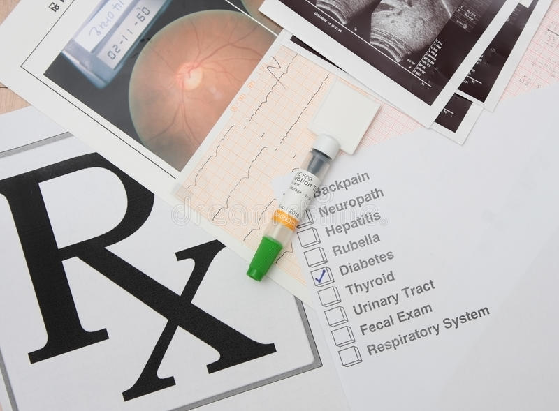 Medical result stock photos