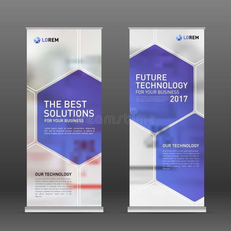 Medical roll up banner design layout. vector illustration