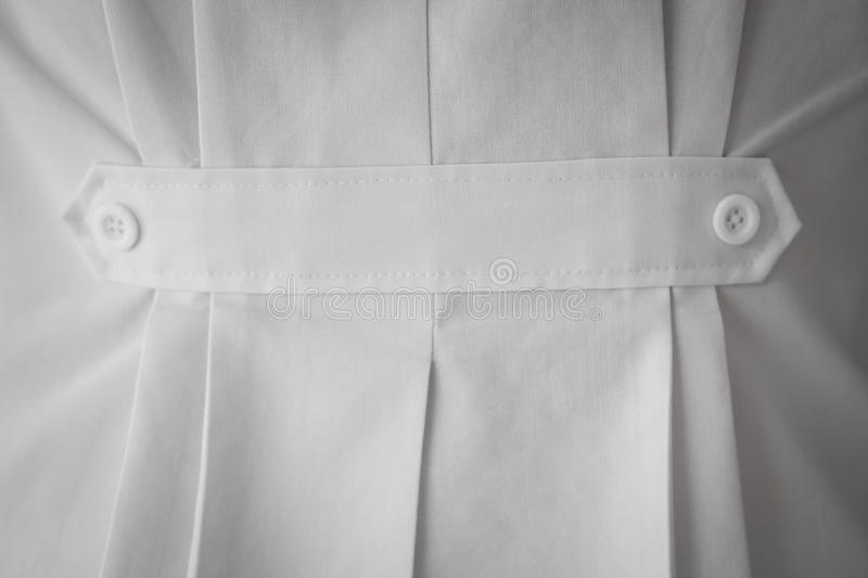 Medical shirt texture background. Close up stock image