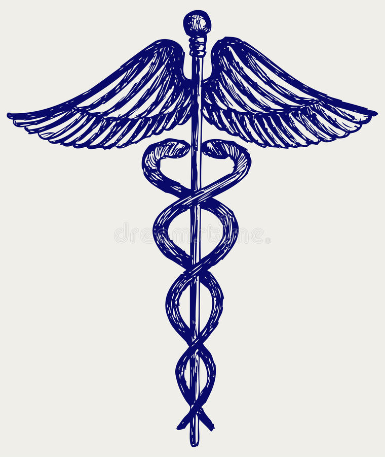 Medical sign royalty free illustration