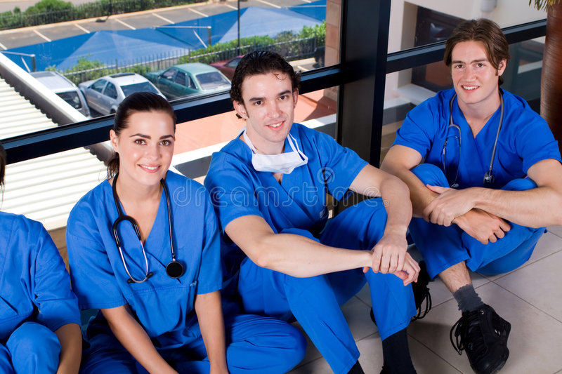 Download Medical staff stock photo. Image of hallway, caring, colleagues - 9085756
