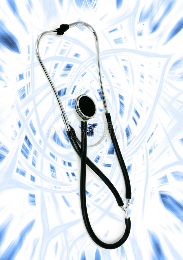 Download Medical stethoscope stock image. Image of equipment, heartbeat - 14860299