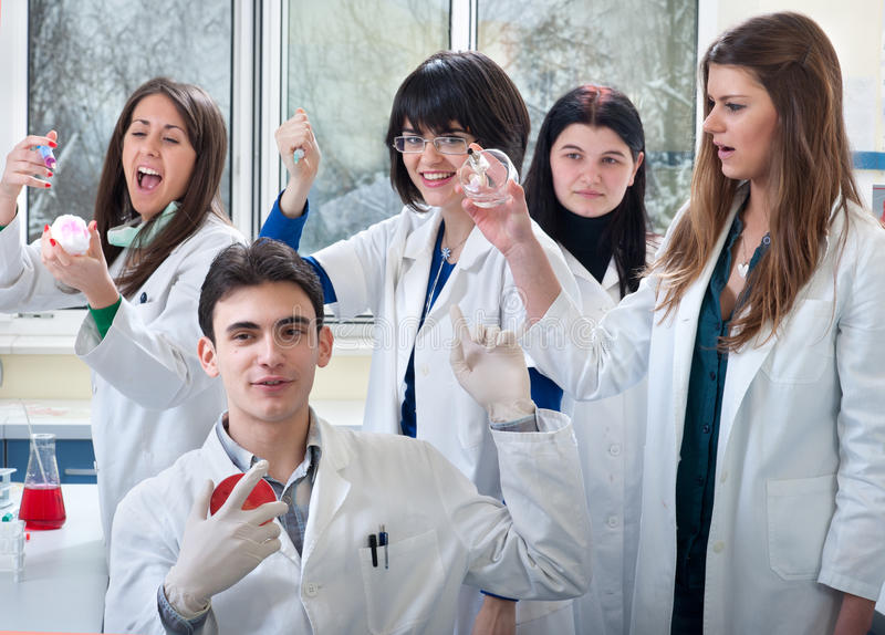 Medical students stock photos