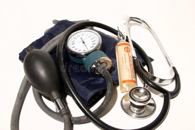 Medical supplies stock photo