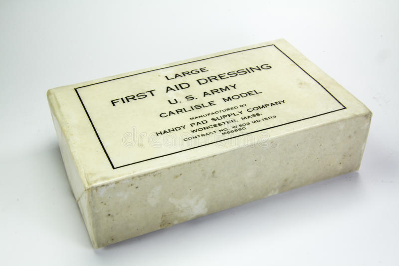 Download Medical Supplies Used During World War Two Stock Image - Image: 22485229