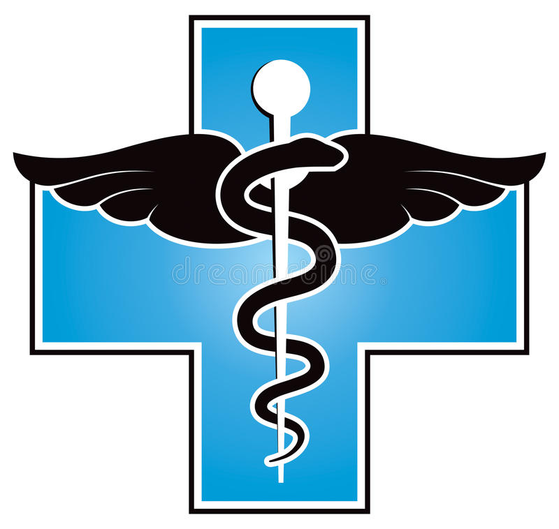 Medical Symbol. A medical medicine symbol logo or icon